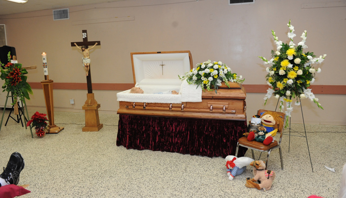 Mike's funeral six